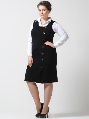 Сарафан Lina. Цвет: черный