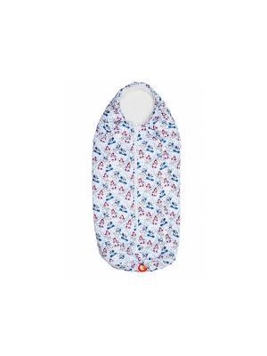 Конверт-одеяло Seehund TIGger. Цвет: белый, синий, красный