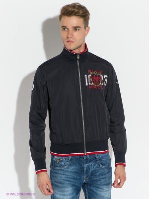 Куртка Ruck&Maul. Цвет: темно-синий, красный