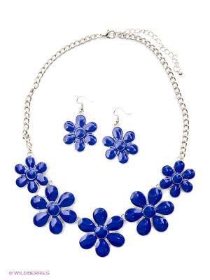 Комплект Lovely Jewelry. Цвет: синий