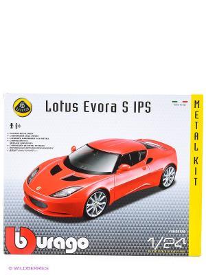 1:24 BB Машина СБОРКА LOTUS Evora S IPS металл. в закрытой упаковке Bburago. Цвет: красный