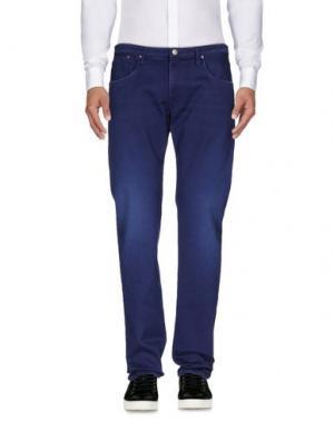Повседневные брюки (+) PEOPLE. Цвет: синий