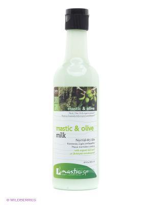 Молочко для лица очищающее Mastic & olive milk Spa. Цвет: зеленый