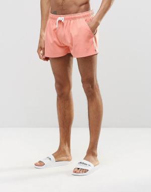 Heist Короткие шорты для плавания. Цвет: оранжевый