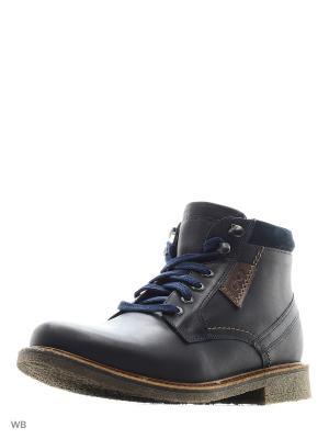 Ботинки Goergo. Цвет: темно-синий