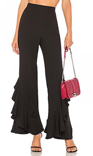 Расклешенные брюки carmelita Lovers + Friends. Цвет: черный