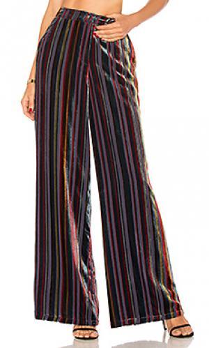 Широкие брюки mona House of Harlow 1960. Цвет: синий