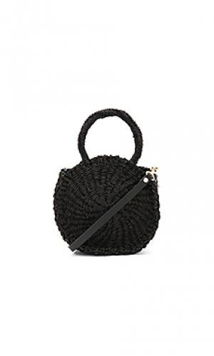 Миниатюрная сумка-тоут alice maison Clare V.. Цвет: черный