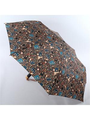 Зонт Airton. Цвет: темно-коричневый, черный, темно-синий