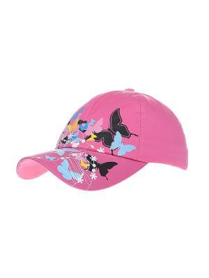 Бейсболка Migura. Цвет: розовый, черный, голубой, фиолетовый