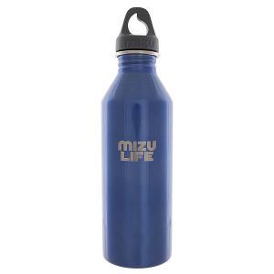 Бутылка для воды  M8 Life Blue Steel Gray Loop Cap Mizu. Цвет: синий