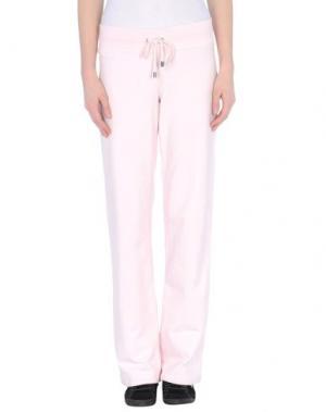 Тренировочные брюки BURBERRY. Цвет: светло-розовый
