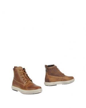 Полусапоги и высокие ботинки IGI&CO. Цвет: желто-коричневый