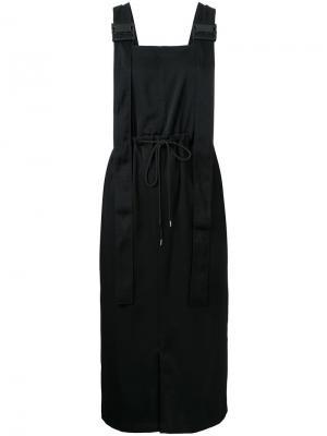 Платье на широких лямках G.V.G.V.. Цвет: чёрный