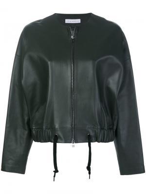 Cropped jacket Inès & Maréchal. Цвет: зелёный