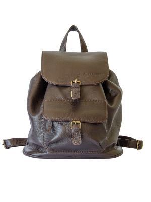 Рюкзак Claire Jack's Square. Цвет: темно-коричневый