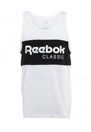 Майка Reebok Classics. Цвет: белый