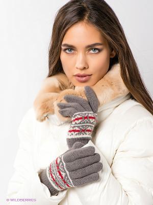 Перчатки Modo. Цвет: серый, красный, белый