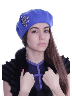 Берет AVANTA. Цвет: синий