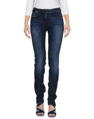 Джинсовые брюки LIVIANA CONTI. Цвет: синий