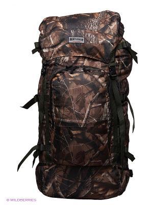 Рюкзак для охоты Медведь 120 V3 км Nova tour. Цвет: коричневый, серый