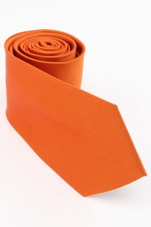 Галстук Frantelli. Цвет: оранжевый