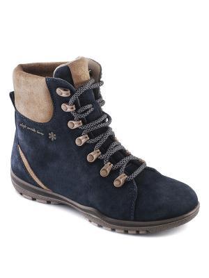 Ботинки S-TEP. Цвет: синий
