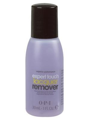 Жидкость для снятия лака ярких оттенков с цитрусом Expert Touch Lacquer Remover, 30 мл OPI. Цвет: прозрачный