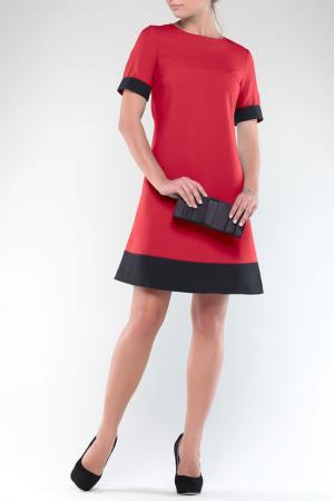 Платье REBECCA TATTI. Цвет: красно-черный