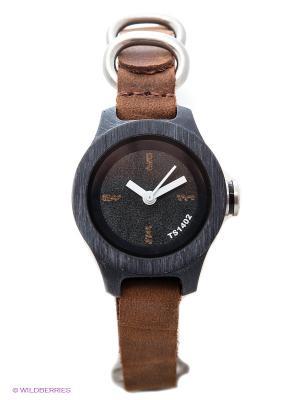 Часы TACS. Цвет: коричневый