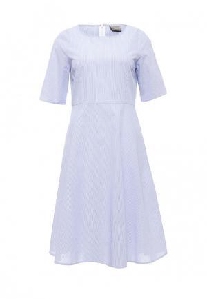 Платье Vero Moda. Цвет: голубой