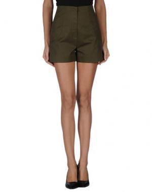 Повседневные шорты ALEXIS MABILLE. Цвет: зеленый-милитари