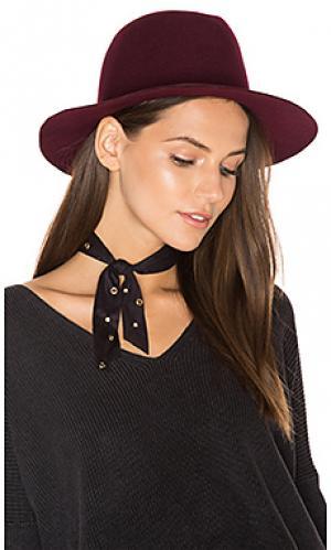 Оригинальная шляпа со средними полями Hat Attack. Цвет: красный