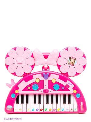 Пианино Minnie. Disney с батарейками IMC toys. Цвет: розовый