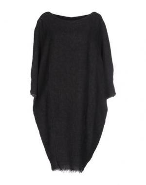Платье до колена UN-NAMABLE. Цвет: свинцово-серый