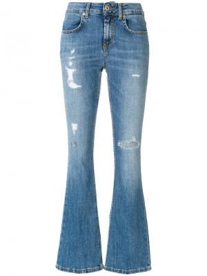 Расклешенные джинсы Dondup. Цвет: синий