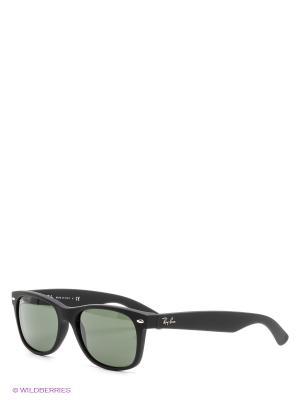 Очки солнцезащитные NEW WAYFARER Ray Ban. Цвет: черный, зеленый