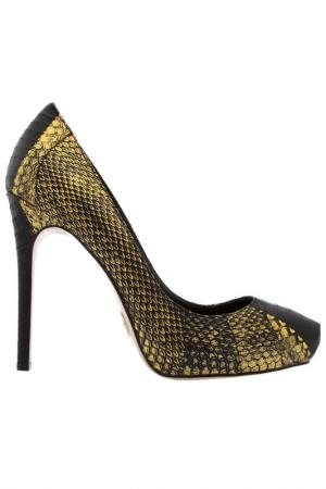Shoes JANIKO. Цвет: black and golden