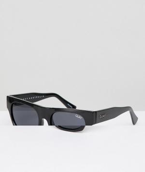 Quay Australia Черные квадратные солнцезащитные очки X Sofia Richie So. Цвет: черный