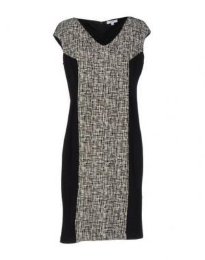 Короткое платье PARAH. Цвет: черный