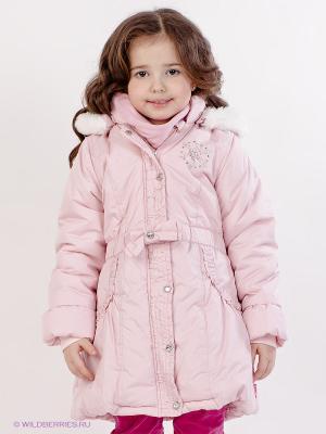 Куртка Pampolina. Цвет: бледно-розовый