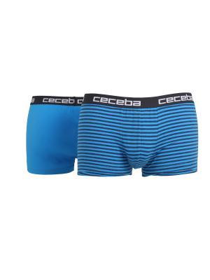 Трусы боксеры, 2 шт. CECEBA. Цвет: синий, антрацитовый
