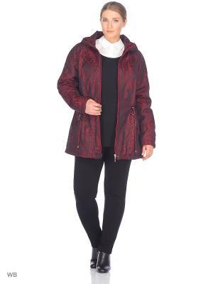 Куртка Мишель VIKO. Цвет: бордовый