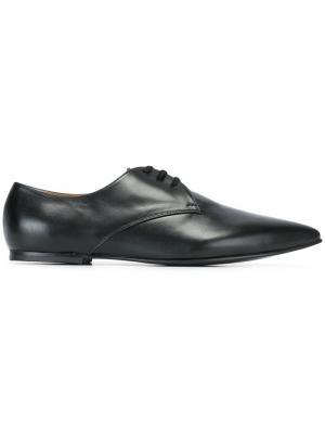 Туфли дерби с заостренным носком Junya Watanabe Comme Des Garçons. Цвет: чёрный