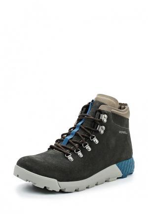Ботинки Merrell. Цвет: зеленый