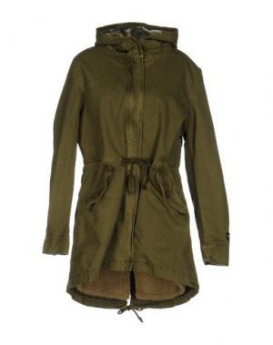Куртка SHOESHINE. Цвет: зеленый-милитари