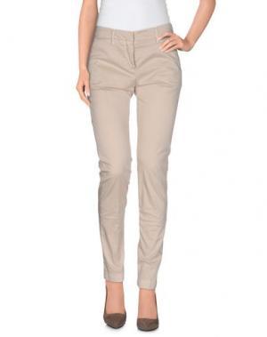 Повседневные брюки PERFECTION. Цвет: песочный
