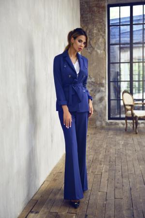 Костюм: пиджак и брюки BEZKO. Цвет: синий