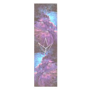 Шкурка для скейтборда  Grip Tape Galaxy Blue Blunt. Цвет: черный,синий,фиолетовый