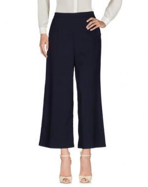 Повседневные брюки ANNA L.. Цвет: темно-синий